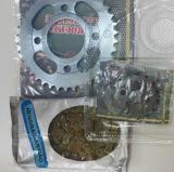 Fabricação de melhor qualidade de roda dentada e kit de corrente