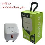 Anpassungsfähiges schnelles Telefon, das Aufladeeinheit 3A für Infinix Arbeitsweg-Aufladeeinheit auflädt