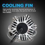 8000LM 12V 6500K COB Fanless Faro de automóvil Kit H11 H11 H4 H7 S9 Auto LED Faros de xenón