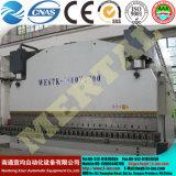 Máquina de dobra hidráulica da placa de metal do CNC, freio da imprensa da folha de metal com Ce