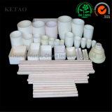 Crogioli di ceramica dell'allumina di alluminio poco costosa prefabbricata cinese del fornitore