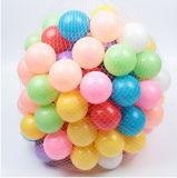 Plástico suave de la bola colorida hecho para el cabrito, bolas plásticas para los cabritos