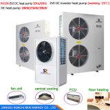 Grand chauffage central Save70% Cop4.23 électrique R410A 12kw, 19kw, 35kw, 70kw, pompe de Chambre à chaleur multifonctionnelle de source d'air de 105kw 60deg c