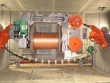 La D digita il torcimento della macchina per la fabbricazione del collegare del cavo