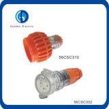 A fábrica fornece diretamente o plugue liso IP66 10A 13A 15A 250V do Pin da fase monofásica 3 de Austrália
