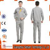 綿の帯電防止服装のクリーンルームのスーツESDのユニフォーム