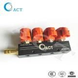 CNG LPG Autogas elektronisches 4cylinder 3 Ohm-Einspritzdüse-Schienen-Modell-Tat L02