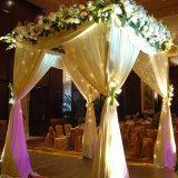 A tubulação indiana do contexto da decoração do casamento e drapeja para a venda