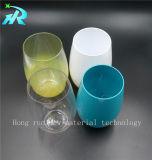 glace acrylique mignonne en verre de vin de l'animal familier 16oz