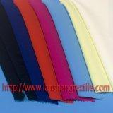 Gefärbtes Gewebe-chemische Faserspandex-Gewebe-Polyester-Gewebe für Frauen-Kleid-Mantel-Klage-Ausgangstextilindustrie