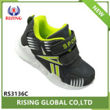 Artículo promocional de alta calidad a los niños calzado deportivo con la luz