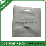 Bolsas de plástico transparente para fazer compras, 100% virgem da película de LDPE Polybags Customized