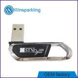 Boa memória Flash do USB do metal do projeto com cor diferente Rubberish