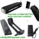 De e-Fiets 48V15ah van China het Hoogste Verkopende Pak van de Batterij van het Lithium Downtube