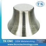Giro del CNC de la cortina de lámpara de la pieza de la iluminación del metal LED