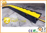 Jupe jaune un protecteur de câble électrique de la Manche en caoutchouc 2 de mètre