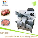 Máquina de cortar congelada modelo del cerdo del botón de la carne de vaca de la rebanadora de la carne del vector