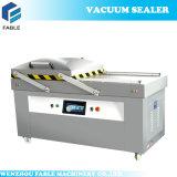 Máquina de embalagem de nivelamento do vácuo do alimento do gás dobro do nitrogênio da câmara (DZ-500 4SB)