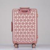 A forma continua a bagagem, jogo do curso, mala de viagem eminente da bagagem do curso