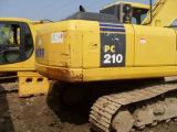 Excavador usado de KOMATSU 21ton del excavador de KOMATSU PC210-7
