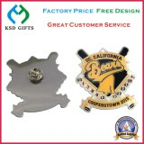 Emblema de Metal Cloisonne latão/Pin de lapela Epola banhada a ouro (KSD-1139)