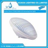 Indicatore luminoso subacqueo cambiante della piscina della lampada del PC PAR56 LED di colore di IP68 AC12V RGB con il periferico