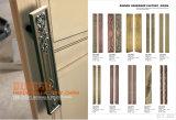 Древесина, ручка двери нержавеющей стали стеклянная (DG-2068)