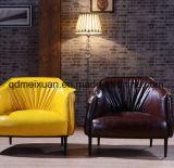 北欧の単一PUの革ソファーの余暇の居間のソファー(M-X3165)