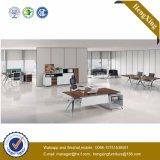 Vector ejecutivo de oficina del escritorio de las piernas de cristal del metal (HX-TN174)