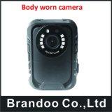 la macchina fotografica del corpo portata polizia di 1296p IP65 16g/32g/64G/128g IR con il GPS funziona