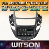 Tela de Toque do Windows Witson aluguer de DVD para Chevrolet Trax 2015