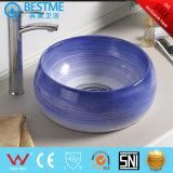 China Fabricação de produtos sanitários da Bacia de lavagem de cor BC-7083