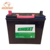 Chumbo livres de manutenção 12V50ah N50L Bateria para o arranque do motor