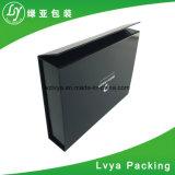 Роскошный черный бумага картон магнит закрытие подарочная упаковка для упаковки зерноочистки