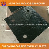 La resistencia al desgaste de superposición de la placa de acero