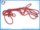 Chaîne de caractères/cordon/corde tressés ronds d'attraction de polyester pour le vêtement/sac/chaussures