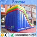 Corrediça inflável colorida que escala corrediças infláveis