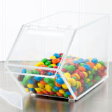 Coffre acrylique empilable classique d'écrimage de nourriture