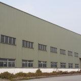 Haut de la structure en acier à paroi de l'entrepôt de grain