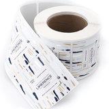 Высокое качество дешевые пользовательский код печать наклейки
