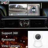 De androïde VideoInterface van 6.0 Navigatie twee-in-Één Eenheid voor Camera van de Mening van de Steun Lexus van 2010-2017 de Achter/Facultatieve Adas