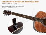 Aiersi guitarra acústica de um Dreadnaught de 41 polegadas com parte superior da ondinha