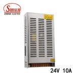 Convertisseur de bloc d'alimentation de Smun S-250-24 250W 24VDC 10A IP20 AC-DC