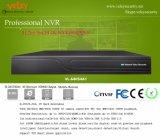 Professional H. 265 64CH 4K NVR Enregistreur réseau numérique à 8 disques durs