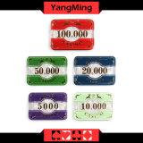Высокосортный набор микросхем 760PCS покера кроны (YM-FGCP005)
