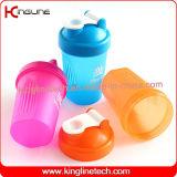 400mlプラスチックシェーカーのびんのwithstainless鋼球(KL-7011)
