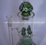 De bos Creatieve Waterpijpen die van het Glas Pijp roken