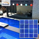 Het Glanzende Mozaïek van uitstekende kwaliteit van de Tegel van het Glas van het Zwembad van het Kobalt