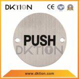 DS020 Hot Ventes signe de la plaque en acier inoxydable rondes