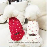 Nouveau design de la neige de Noël le PET produit vêtements Manteaux pour chiens chien Fashion Chien de compagnie enduire